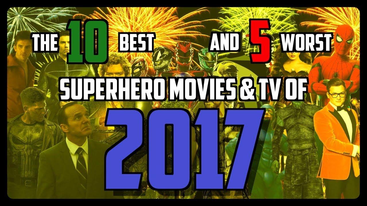 The 10 Best (And 5 Worst) Superhero Properties of 2017