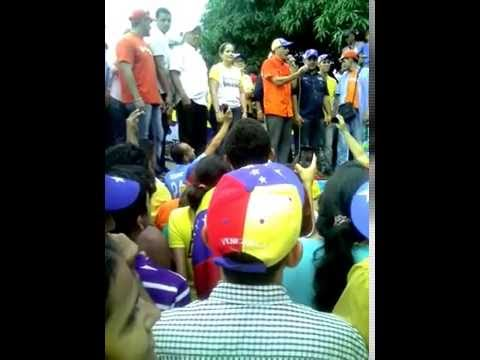 Capriles en Guanare. Juventud AD dijo presente...