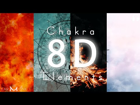 The Four Elements | Earth Water Fire Air | Four Chakras Healing | Root Sacral Solar Heart