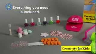 Faber-Castell Ultimate Nail Studio with Nail Polish & Nail Dryer Creativity For Kids