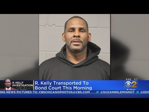 R. Kelly Transported To Bond Court
