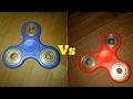 Red Fidget Spinner Vs. Blue Fidget Spinner | Battle Of The Spinners
