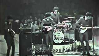 The Beatles first live US concert at the Washington Coliseum - Twist and Shout 1964 Beatles