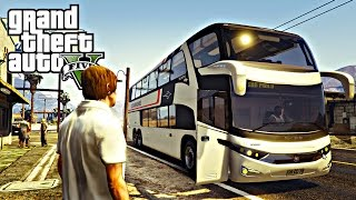 Video GTA 5: ModBus - Rota do interior Ônibus Catarinense download MP3, 3GP, MP4, WEBM, AVI, FLV September 2018
