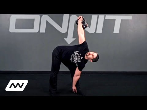 Kettlebell Exercise: Windmill