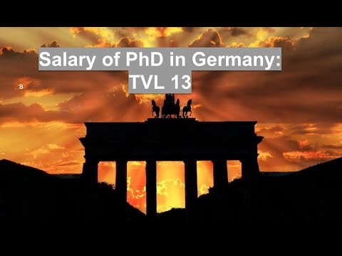 Salary of PhD student and Postdoc in Germany – FASTEPO COM