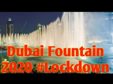 Dubai Fountain ⛲ 2020 l Biggest Fountain In The World 🌎 #Jivyavlog #Newnormal