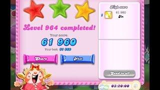 Candy Crush Saga Level 964     ★★★   NO BOOSTER