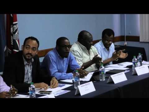 OWTU industriALL Building Union Power Nationally, Regionally & Globally, Sando #1. Nov. 19. Trinidad
