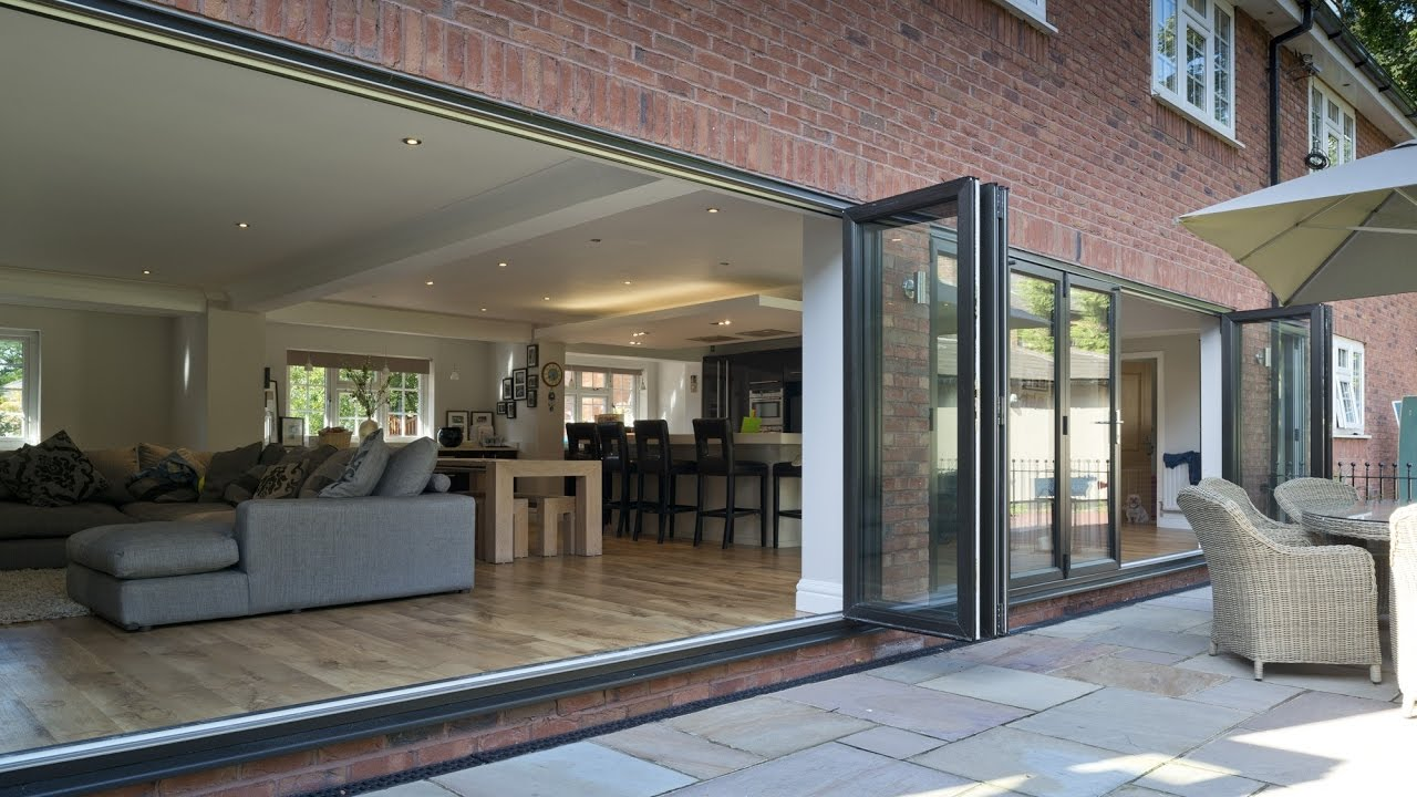Bi Fold Patio Doors Youtube