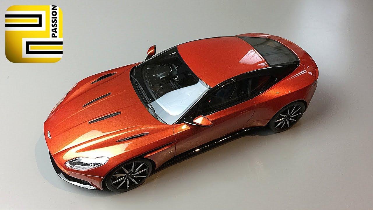 1 18 aston martin db11 top speed models cinnabar orange youtube. Black Bedroom Furniture Sets. Home Design Ideas
