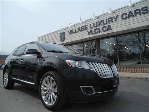 2012 Lincoln MKX [Limited AWD] in reviewVillage Luxury Cars Toronto