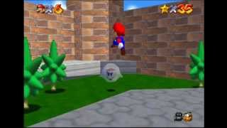 Zane Plays - Super Mario 64 (Episode 7) [Haunted House]