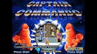 Capcom Classics Collection Vol. 2 (PlayStation 2) - Captain Commando Full Game