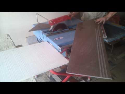 Подготовка ступеней из керамогранита для облицовки
