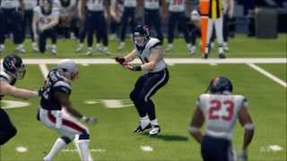 Madden NFL 25 - Houston Texans vs. New England Patriots Gameplay [HD]
