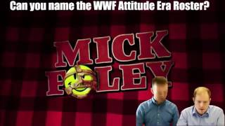 SPORCLE QUIZ CHALLENGE - EP #3  - Entire WWF Attitude Era Roster