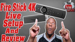 Amazon Fire Tv Stick 4k Setup / live jailbreaking a fire stick