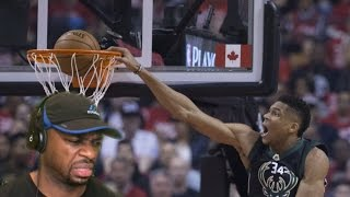 Bucks vs Raptors Full Game Highlights Reaction | Game 1 of Playoffs April 15,2017