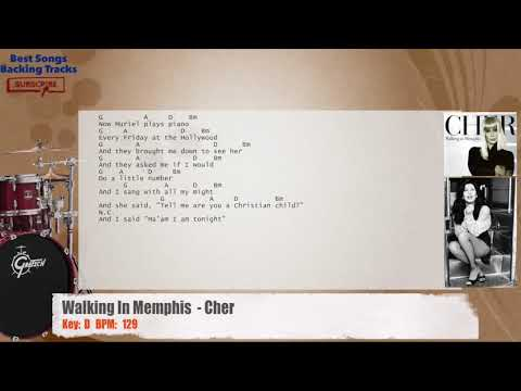 Chords and lyrics to walking in memphis