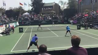 Nik Scholtz/Tucker Vorster vs Mackie McDonald/Ben Mclachlan 2016 Aptos Challenger