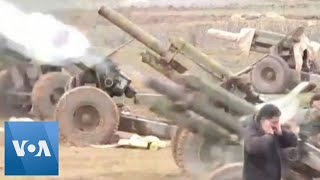Syrian Forces Shell Rebel Positions in Idlib Province