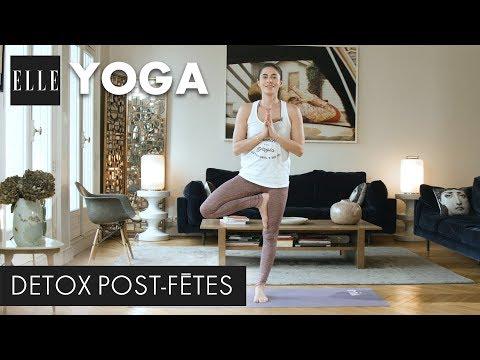 20 minutes de yoga détox après les fêtes┃ELLE Yoga