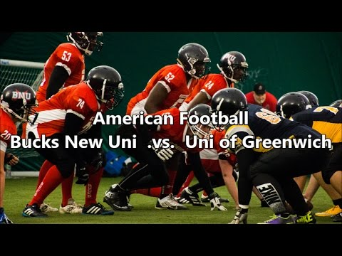American Football: Bucks New Uni vs Uni of Greenwich