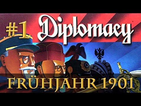 Let's Play Diplomacy: Frühjahr 1901 (Steinwallens Lager / Play-by-Mail)