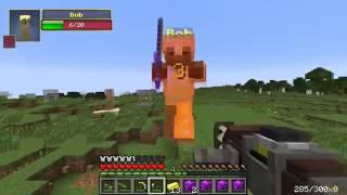 PopularMMOs Minecraft ~ ROCKET LAUNCHERS EXPLOSIVE CHALLENGE GAMES ~ Lucky Block Mod ~ Modded Mini~G