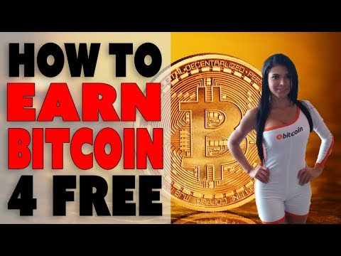 How to Earn Bitcoin for Free Without Investment