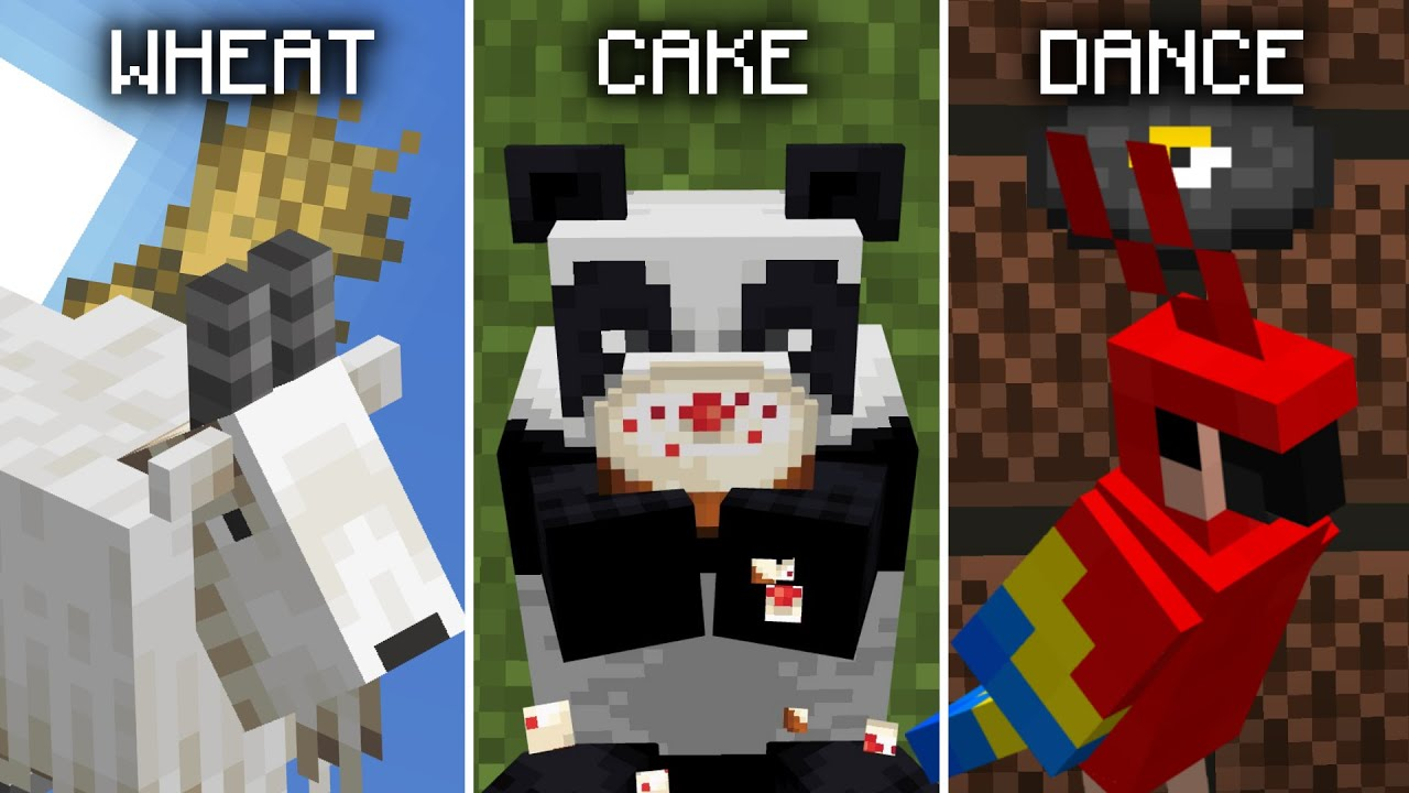 Minecraft: Mobs and their Favorite Things 10