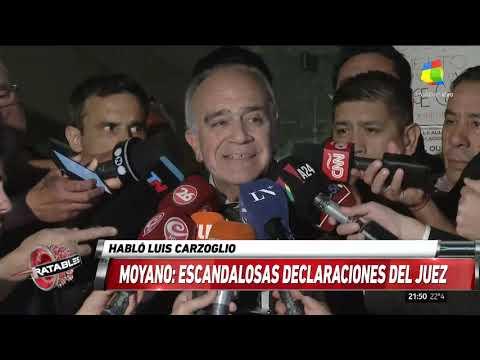 Carzoglio tras negarse detener a Pablo Moyano: A mí no me van a apretar ni perseguir