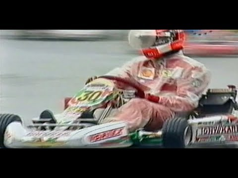 vintage world karting championship Schumacher / Rosberg / Hamilton