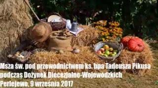 Dożynki Diecezjalno-Wojewódzkie w Perlejewie, 9 września 2017r.