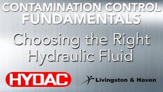 Choosing the Right Hydraulic Fluid