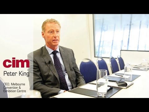 Interview with Peter King, CEO, Melbourne Convention & Exhibition Centre