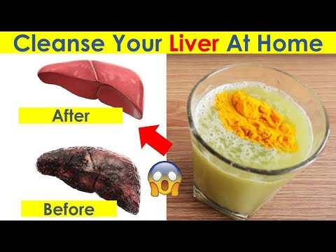 Cleanse Your Liver at Home - Natural Liver Detox Drink!