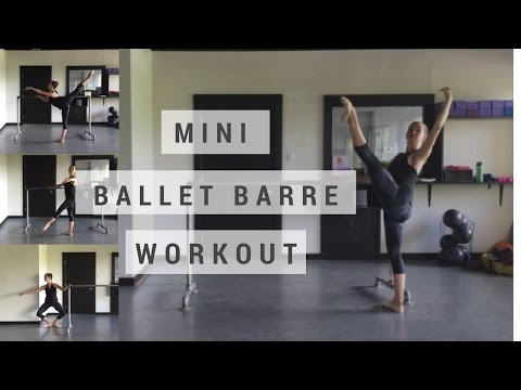 Mini Ballet Barre Workout