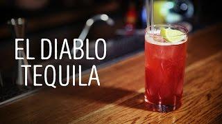 Коктейль El Diablo Tequila [Как Бармен]