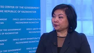 Эксклюзивное интервью с директором Департамента дошкольного и среднего образования Ш. Кариновой