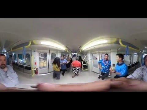 360° Tour Of Honolulu Rail
