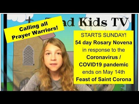54 Day Rosary Novena in Response to the Coronavirus Pandemic