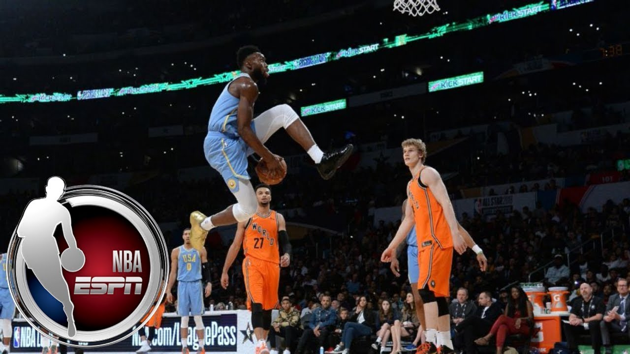 The best and most ridiculous dunks at the NBA Rising Stars Challenge | ESPN