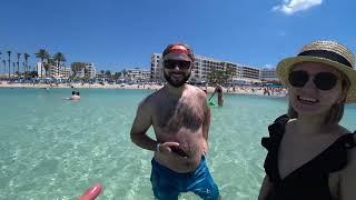 Кипр 2021 ч 1 Обзор отеля ELECTRA HOLIDAY VILLAGE Пляжи Айя Напы Прокат авто Обед и ужин отеля