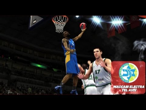 NBA 2K14 Official Trailer With Maccabi Electra Tel Aviv
