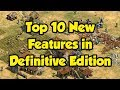 Top 10 New Features in Definitive Edition