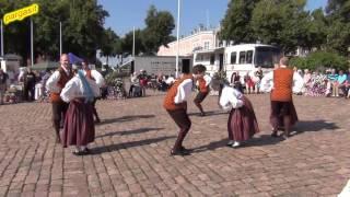 Folk dance - Loksa Tantsijad,  Kagu eesti tantsud 20.8.2016
