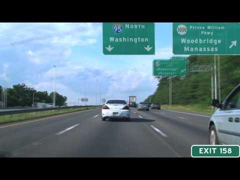 I-95 North Mile 152-170: Northern Virginia