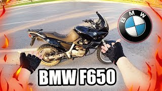 BMW F650 İLE GAZLADIM ! (Motor Kitledi) MotoVlog#70